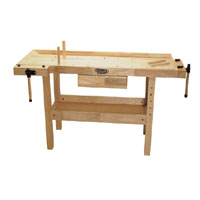 1400 X 500 X 860mm Carpenters Workbench With 1 Drawer