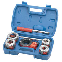 7 Piece Imperial Ratchet Pipe Threading Kit