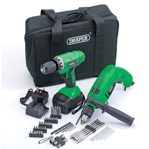 Cordless Drill And Impact Drill Kit