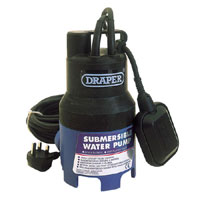 Submersible Dirty Water Pump 6m Lift and 110l/m Max Flow   Float Switch 240v