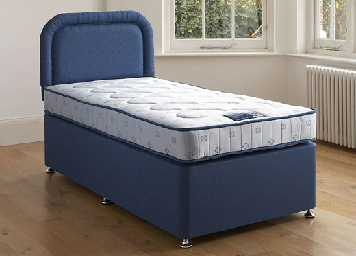 Single Classic Divan Set - Blue