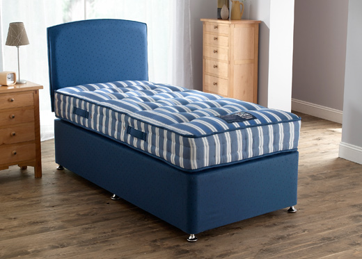 Single Grand Divan Set - Blue