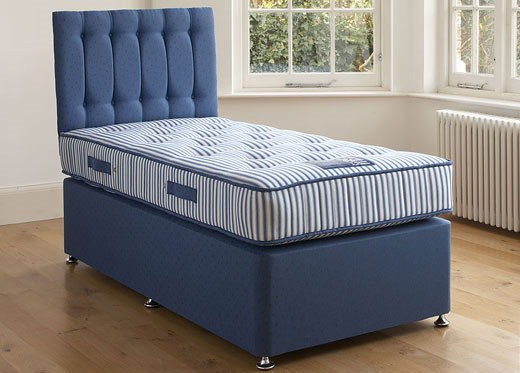 Single Ortho Divan Set - Blue