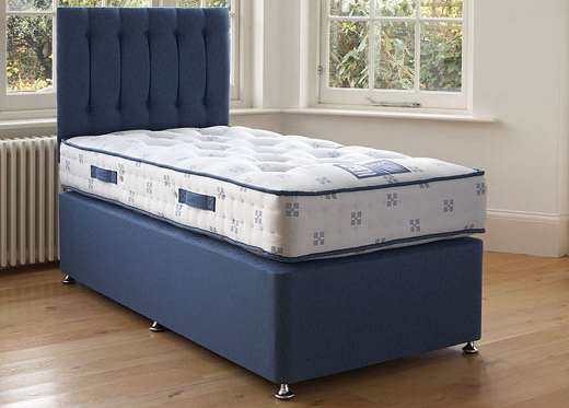 Single Pocket Divan Set - Blue