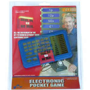 Drumond Park Deal Or No Deal Hand Held Electronic
