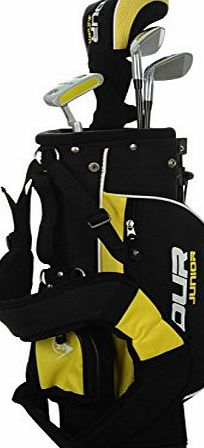 Dunlop Kids Junior Premium Golf Tour Set Sports Driver Putter Bag Graphite Shaft R/H 3-5Yrs One Size