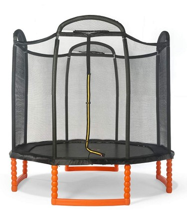 Duplay 10ft Trampoline with Safety Net