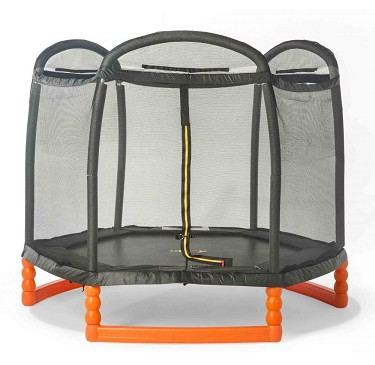 Duplay 7ft Trampoline with Safety Net