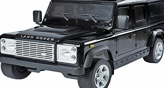 Duplay Licensed Land Rover Defender 12V Kids Electric Ride On Jeep/Car - 4 Colours (Black)