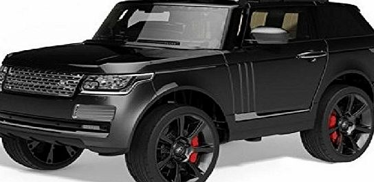 Duplay Range Rover Sport Autobiography Style Kids Electric 12v Jeep Ride On Car (Matt Black)