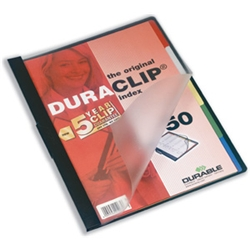 Duraclip 50 Index Files Black