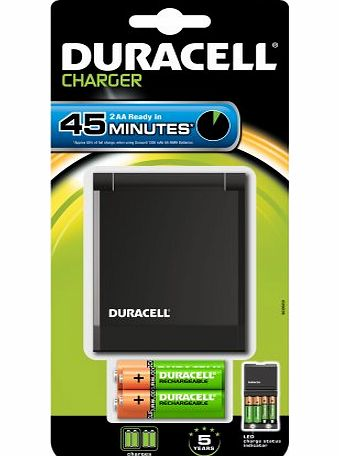 Duracell 1hr AA / AAA Speedy Battery Charger -
