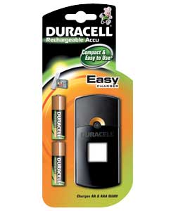 Duracell AA and AAA Battery Charger with 2 x AA