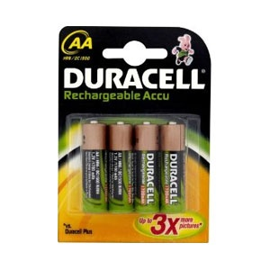 Rechargeable 1700mAh AA Batteries - 4