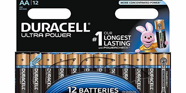 Ultra Power AA Batteries Pack of 12