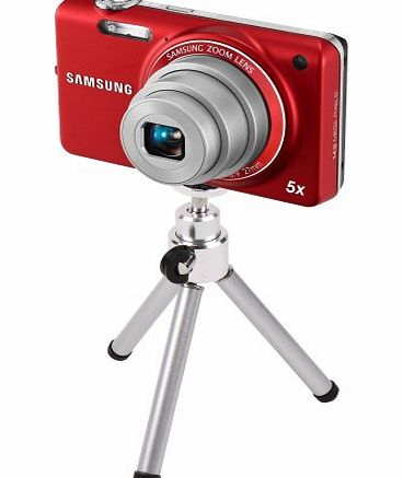 Collapsible Aluminium Miniature Camera Tripod For Samsung ST95, ST65, EX1, SH100, WB850F amp; ST76, By DURAGADGET