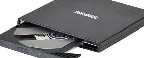 Duronic slimline USB External DVDRW/DVD RW. Drive Reads and writes both CD