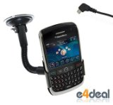 Blackberry Javelin 8900 Custom Car Cradle and Charger by e4deal