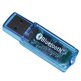 Bluetooth Dongle/Adaptor V2.0 for Nokia, Sony Ericsson, Motorola, Samsung, LG, HTC, Blackberry, PDA by e4deal