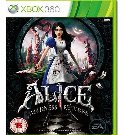 Alice Madness Returns on Xbox 360