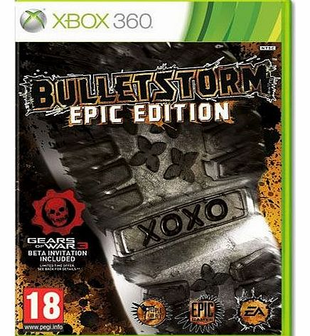 Bulletstorm on Xbox 360