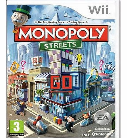 Monopoly Streets on Nintendo Wii
