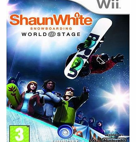 Shaun White Snowboarding World Stage on Nintendo