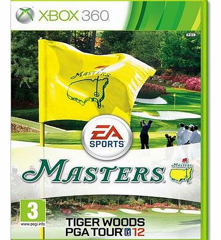 Tiger Woods PGA Tour 12 - The Masters on Xbox 360