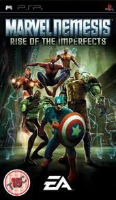 EA Marvel Nemesis Rise Of The Imperfects PSP