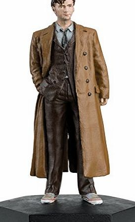 Eaglemoss / Doctor Who Doctor Who Figurine Collection - Figure #8 - 10th Doctor Who David Tennant - Hand Painted 1:21 Scale Model - Collector Boxed