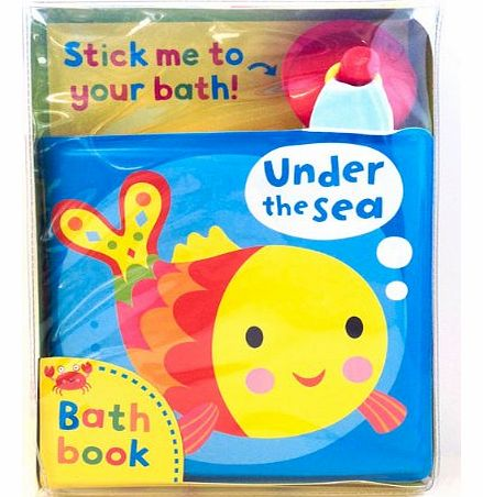 Under the Sea! A bath book: A reversible, fold-out book that sticks to your bath!