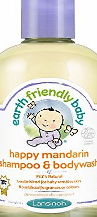 Earth Friendly Baby Happy M and arin Shampoo and Bodywash Ecocert