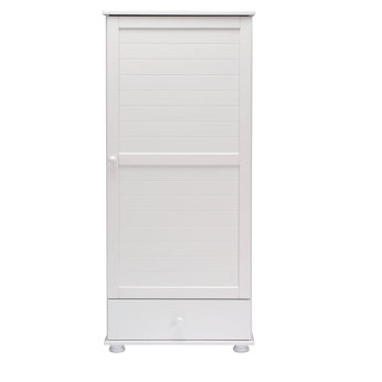 Dilham Wardrobe in White Finish