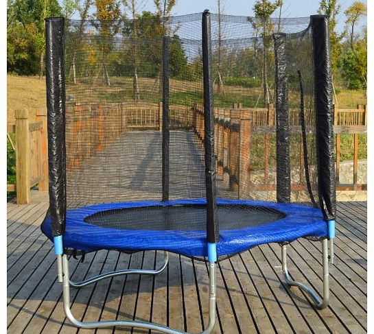 Eastwharf® Trampoline With Safety Enclosure Net