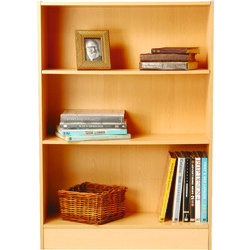 Click No-tool Low Wide Bookcase 2