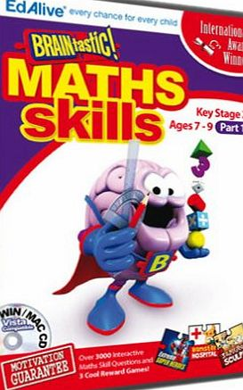 Edalive BRAINtastic! Maths KS2 Part 1 (PC CD)