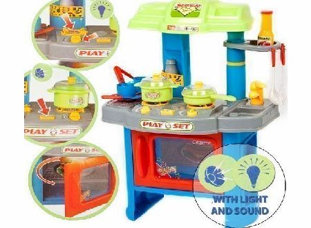 29 Piece Electronic Toy Kitchen