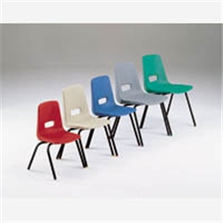 educational Chair 3-5 Years Red