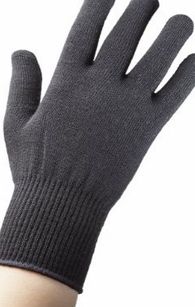 EDZ  Merino Wool Liner Gloves - Black, Medium