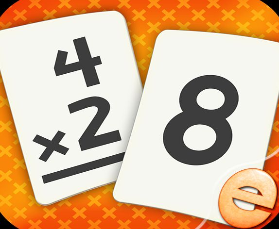 Eggroll Games Multiplication Flashcard Quiz and Match Games for kids in 2nd, 3rd and 4th Grade Learning Flash Cards Free