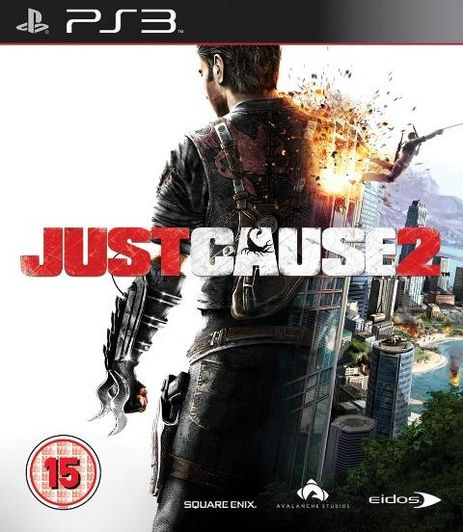 EIDOS Just Cause 2 PSP