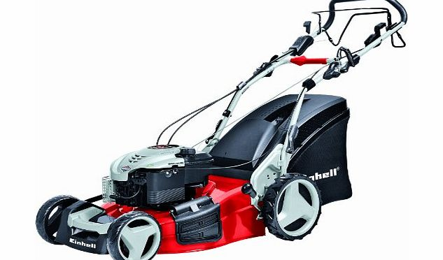 Einhell GE-PM 51VS-H 4-in-1 Self Propelled High Wheel Petrol Lawn Mower