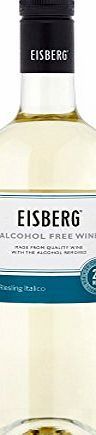 Eisberg Alcohol Free Riesling White Wine 75cl Bottle x 2 Pack