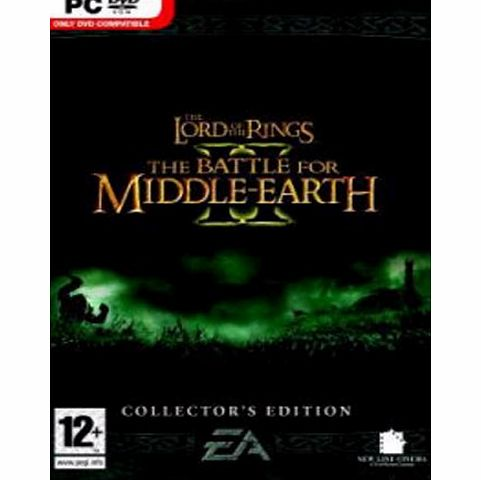 Lord of the Rings: The Battle for Middle-Earth II Collectors Edition (PC DVD)