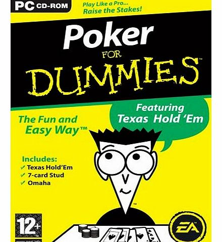 Poker For Dummies (PC DVD)