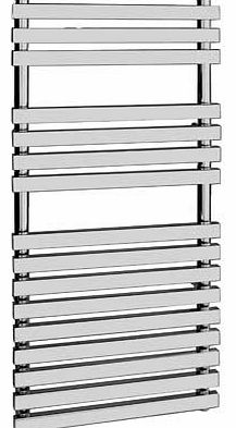 Eliana Bathrooms Flat Bar Towel Radiator 50x120cm - Chrome
