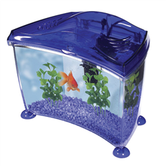 Elite Cool 14ltr Purple Goldfish Starter Fish Tank By