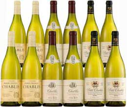 limited-edition Chablis - Mixed case