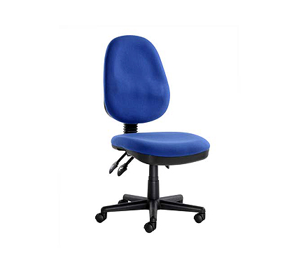 Eliza Tinsley Ltd System Blue Fabric Office Chair