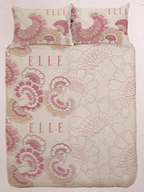 Elle Paris Life Wheat Single Size Duvet Cover And